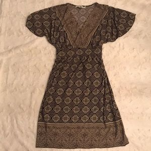 LILY Patterned Dress Size PS Petite Small